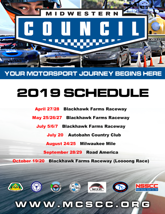upcoming events \u2013 midwestern council of sports car clubs